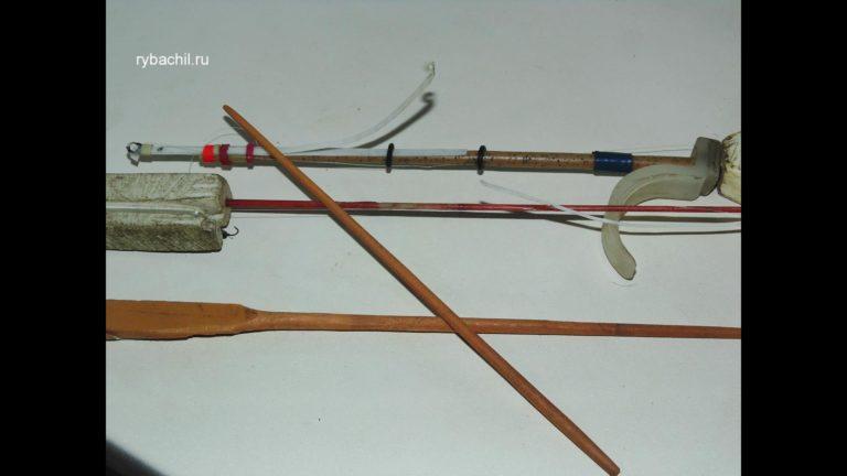 Хлыстик для зимней рыбалки своими руками 26