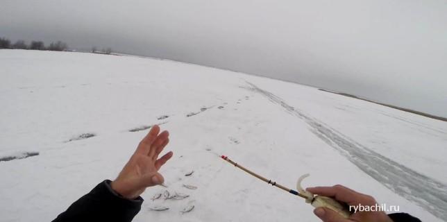 Рыбалка в Нижегородской области зимой.
